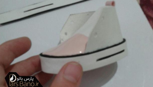 آموزش یک مدل از کفش های عروسک روسی